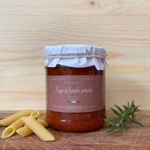 Castelletto- Sugo ai Funghi porcini