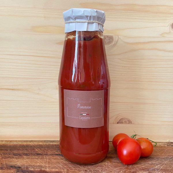 Proef Piemonte   Castelletto   Pure tomaten saus  100% tomaat