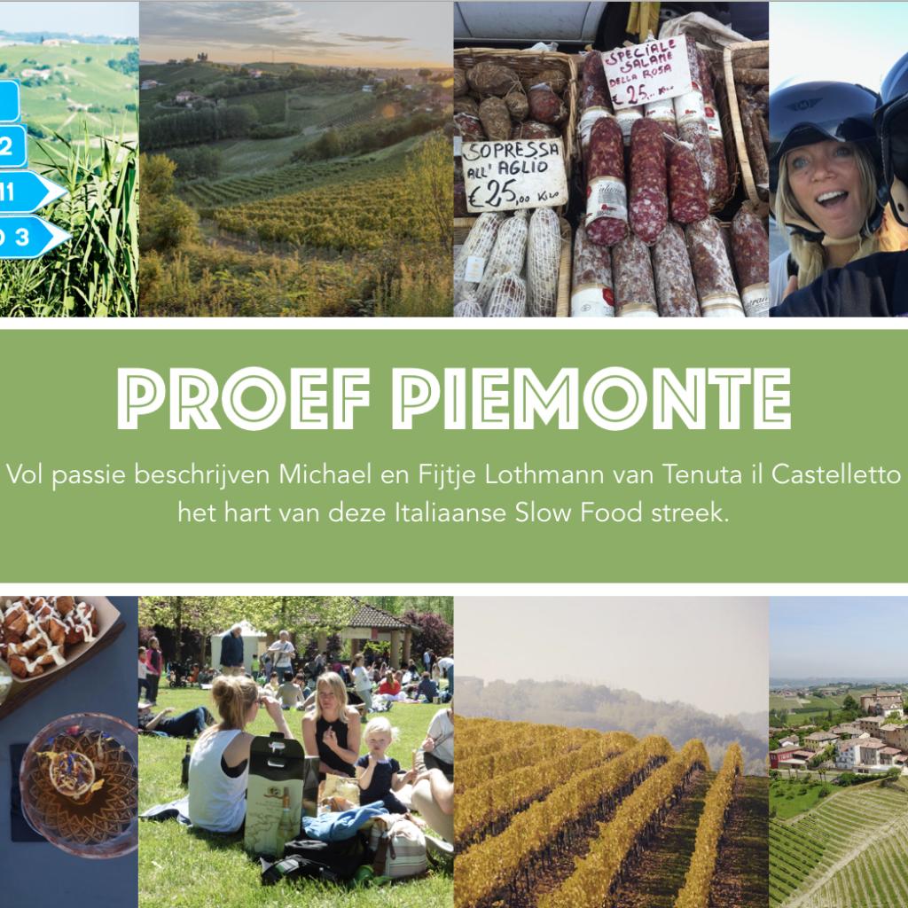 Reisgids Piemonte | Proef Piemonte cover VK